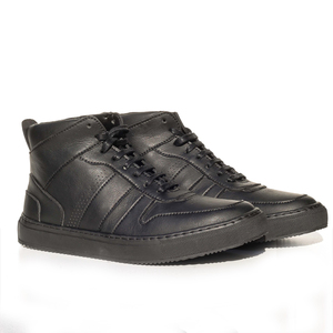 Celso Hi-Sneaker (schwarz,Microfaser) - Fairticken