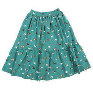Lily-Balou Rock mint Hunde long skirt - Lily Balou