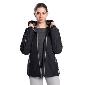SYMPATEX® Thermal Jacke Damen Dunkelgrün - bleed