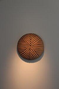 Afrikanischer Holzschild # 4 | 30 cm | Kamerun - Townshipsmile