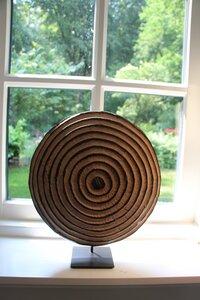 Afrikanischer Holzschild # 2 | 30 cm | Kamerun - Townshipsmile