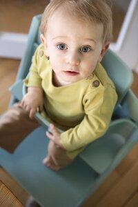 Pima Baby Pullover Grün/Braun - Mama Ocllo