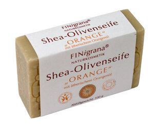 Shea-Olivenseife Orange - Finigrana