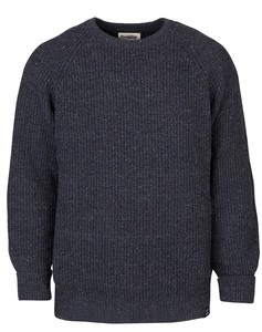 Strickpullover - Men's Essential Everyday Sweater - Blau - Blue LOOP Originals