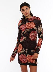4inONE Blumenkleid & Pullover in Einem! aus Bio Baumwolle  - LASALINA