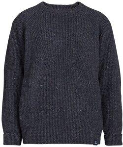 Strickpullover - Women's Essential Everyday Sweater  - Blue LOOP Originals