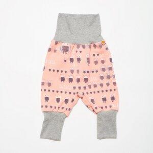 Sweat Babypumphose 'Sweat Familie Eule Pink/Grau' - Cheeky Apple