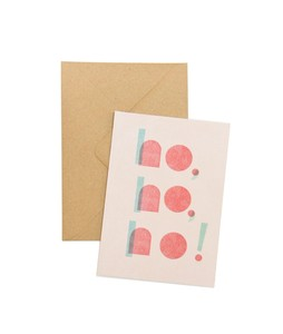 Öko-Postkarte 'ho,ho,ho!' - MOZAÏQ eco design