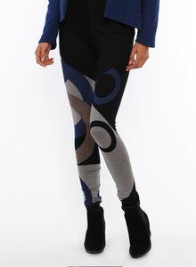 LASALINA - Winter Leggings mit Muster - LASALINA