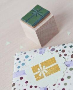 Stempel Geschenk groß - MOZAÏQ eco design