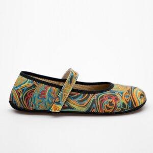 Ananda Barfuß Ballerinas Regenbogen - Ahinsa shoes®
