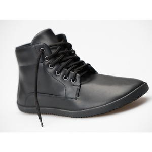 Sundara: Barfuß Trekkingschuhe / Wanderschuhe schwarz - Ahinsa shoes®