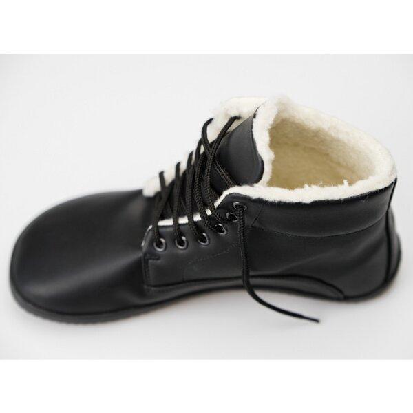 schönes Design populäres Design dauerhafte Modellierung Ahinsa shoes® - Sundara:Barfuss Winterstiefel schwarz | Avocadostore
