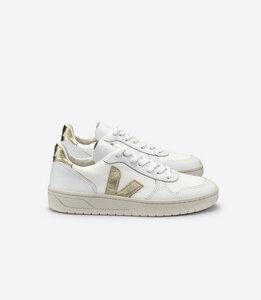 Sneaker Damen - V-10 B-Mesh - White Gold - Veja
