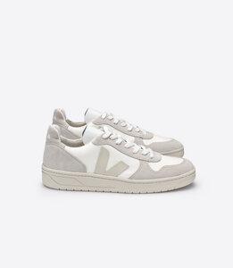 Sneaker Damen - V-10 B-Mesh - White Natural - Veja