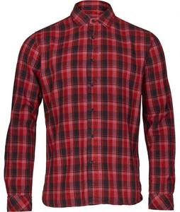 Overdyed Checked Shirt Malaga - KnowledgeCotton Apparel