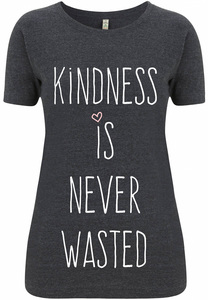 Recycling KINDNESS Damenshirt - WarglBlarg!