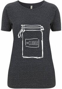 Recycling CHANGE Damenshirt - WarglBlarg!
