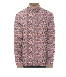 Flower Printed Shirt malaga - KnowledgeCotton Apparel