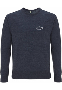 Recycling FISH unisex Pullover - WarglBlarg!