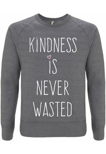 Recycling KINDNESS unisex Pullover - WarglBlarg!