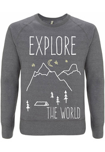 Recycling EXPLORE unisex Pullover - WarglBlarg!