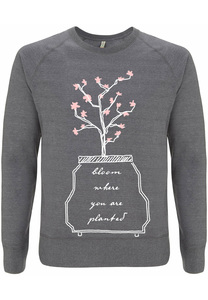 Recycling BLOOM unisex Pullover - WarglBlarg!