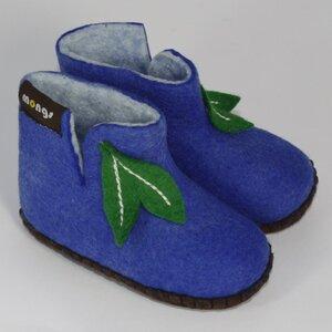 Hausschuhe - Baby Mongs Blau - mongs®