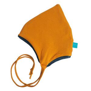 Baby winterfeste Zipfelmütze uni mit Bändchen - bingabonga®