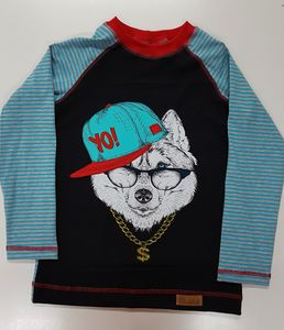 Kinder-Shirt/Longsleeve Yo - Omilich