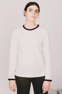 weicher Pullover aus Bio-Baumwolle - MARIA SEIFERT
