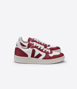 Sneaker Herren - V-10  B-Mesh White Marsala Marsala - Veja
