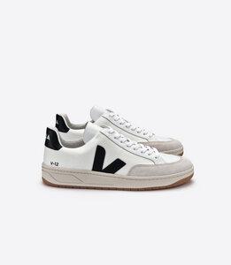 Sneaker Herren - V-12 B-Mesh White Black - Veja