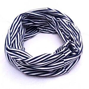 Multifunktions Loop pur geringelt rot/weiß, blau/weiß - liebewicht