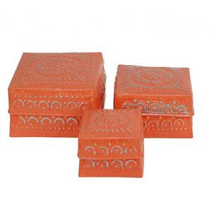 3-Set Boxen aus Aluminium - fairanda