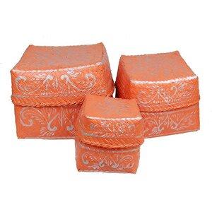 3-Set Boxen aus Bambus - fairanda