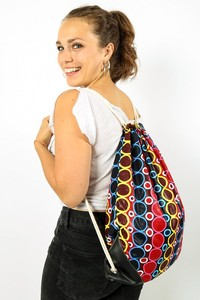 Kipepeo Gymbag 'Duara'/ Handmade in Tanzania - Kipepeo-Clothing