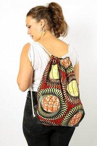 Kipepeo Gymbag 'Jua/ Handmade in Tanzania - Kipepeo-Clothing