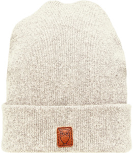 Mütze - Beanie organic wool - Nature Melange - KnowledgeCotton Apparel
