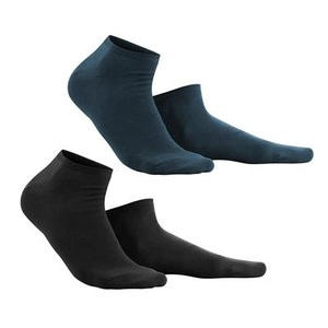 Sneaker Socken 2er Pack Black/Navy - Living Crafts