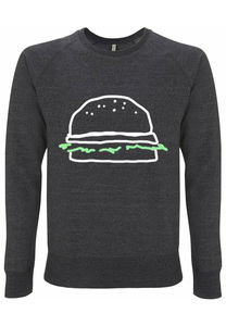 Recycling BURGER unisex Pullover - WarglBlarg!