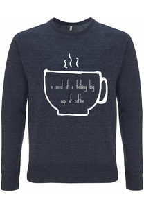 Recycling COFFEE unisex Pullover - WarglBlarg!