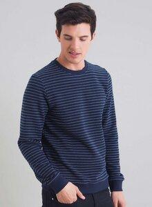 Basic Ringel Sweatshirt aus Bio Baumwolle - ORGANICATION