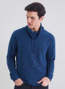 Schalkragen Sweatshirt aus Bio Baumwolle - ORGANICATION
