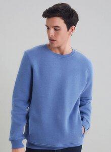 Sweatshirt mit seitlichen Eingriffstaschen aus Bio Baumwolle - ORGANICATION