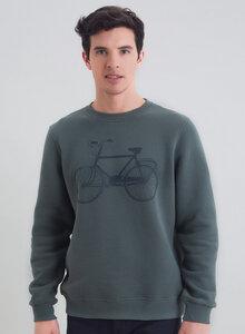 Langarm Basic Sweatshirt aus Bio Baumwolle - ORGANICATION