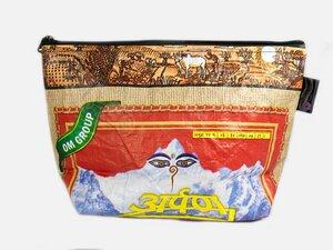 HH Toilettasche aus recycelten Reissäcken (Toiletery Bag)  - Himal Hemp