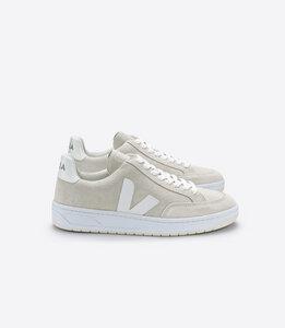 Sneaker Damen - V-12 - Suede Natural White - Veja