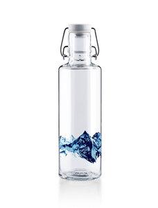 soulbottle 0,6l Glastrinkflasche  - verschiedene Motive - soulbottles