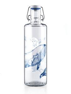 soulbottle 1,0l • Trinkflasche aus Glas • 'souldiver'  - soulbottles
